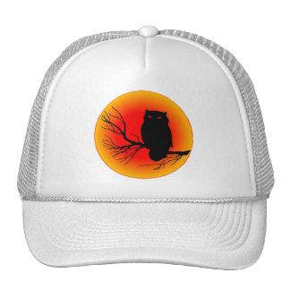 Spooky Owl Trucker Hat