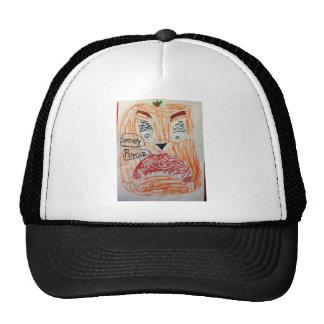Spooky Pumpkin Hi Rez.jpg Trucker Hats