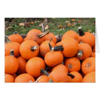 Spooky Pumpkins Card