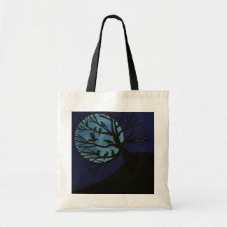Spooky Raven Tote Bag