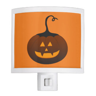 Spooky Scary Jack O Lantern Halloween Pumpkin Night Lite