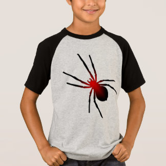 spooky scary spider halloween kid's t-shirt design