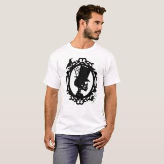 Spooky Skull In Frame men's T Shirt