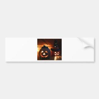 Spooky Smiles Bumper Sticker