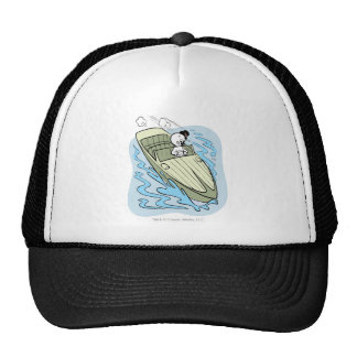 Spooky Speedboat Mesh Hats
