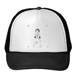 Spooky Spider Girl Trucker Hat