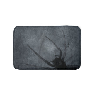 Spooky Spider Halloween Prints Bath Mat