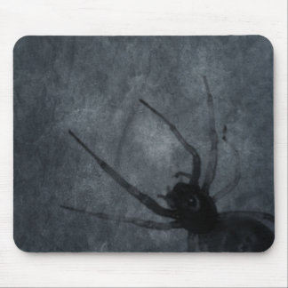 Spooky Spider Halloween Prints Mouse Pad