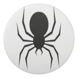Spooky Spider Halloween Round Eraser