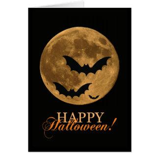 Spooky Super Moon Card