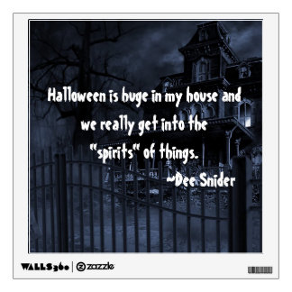 Spooky Wall Decal for Halloween