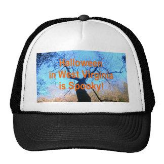 Spooky West Virginia Halloween Hat