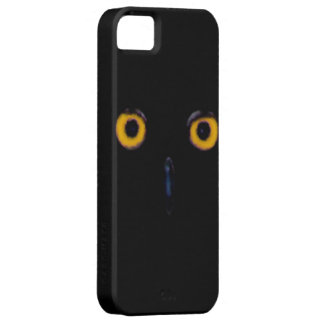 Spooky Wise Old Owl Eyes Face Halloween Case For The iPhone 5