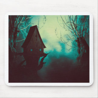 Spooky Witch House in Mist 2 Mouse Pad
