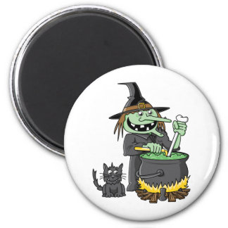 Spooky Witch Magnet