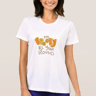 Spooky Year Round Funny Halloween T-Shirt