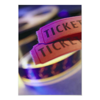 Spool of Tickets Card