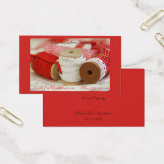 Spools of Ribbons Business Card