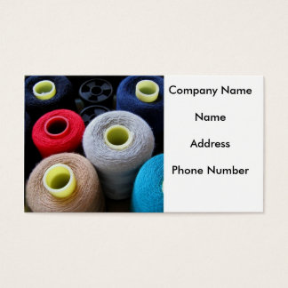 Spools of Yarn Business Card