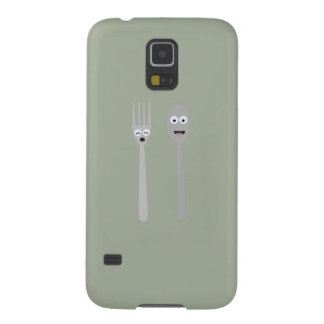 Spoon and Fork Kawaii Zqdn9 Case For Galaxy S5