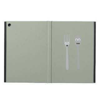 Spoon and Fork Kawaii Zqdn9 Cover For iPad Air
