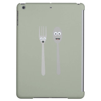 Spoon and Fork Kawaii Zqdn9 iPad Air Case