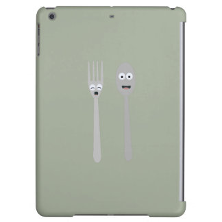 Spoon and Fork Kawaii Zqdn9 iPad Air Cases