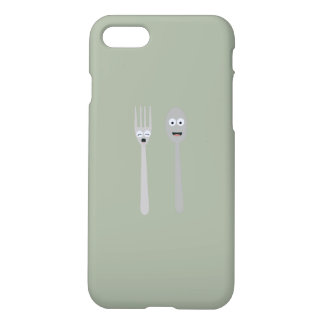 Spoon and Fork Kawaii Zqdn9 iPhone 7 Case