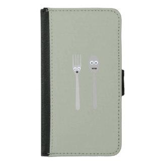 Spoon and Fork Kawaii Zqdn9 Samsung Galaxy S5 Wallet Case