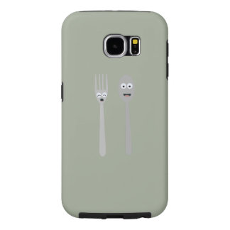 Spoon and Fork Kawaii Zqdn9 Samsung Galaxy S6 Cases