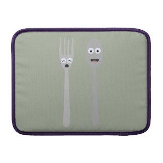 Spoon and Fork Kawaii Zqdn9 Sleeve For MacBook Air