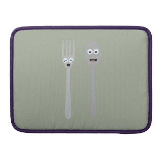 Spoon and Fork Kawaii Zqdn9 Sleeve For MacBook Pro