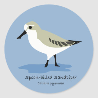 Spoon-billed Sandpiper Stickers