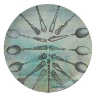 SPOON CHART PLATE