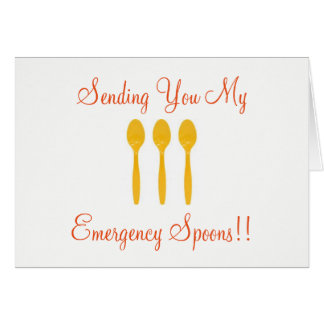 Spoons!!! Card