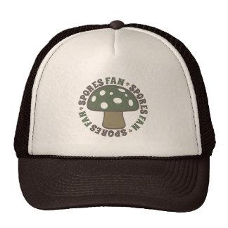 Spores Fan - Love Psychedelic Magic Mushroom, Camo Trucker Hat
