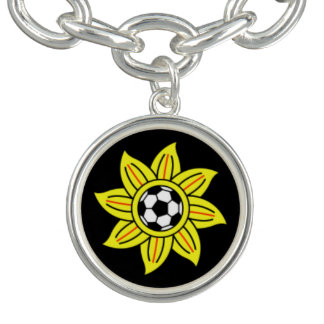 Sport and nature charm bracelet