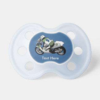 Sport Bike Motorcycle Pacifiers