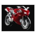 Sport Bike Racing Motorcycle Flyer
