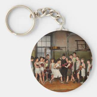 Sport - Boxing - Fists of fury 1924 Basic Round Button Keychain