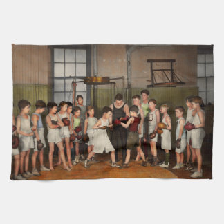 Sport - Boxing - Fists of fury 1924 Kitchen Towel