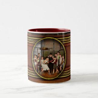 Sport - Boxing - Fists of fury 1924 Two-Tone Coffee Mug