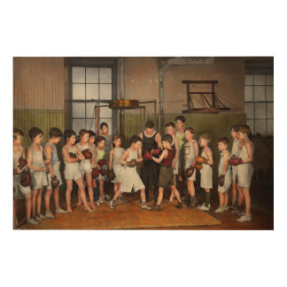 Sport - Boxing - Fists of fury 1924 Wood Prints
