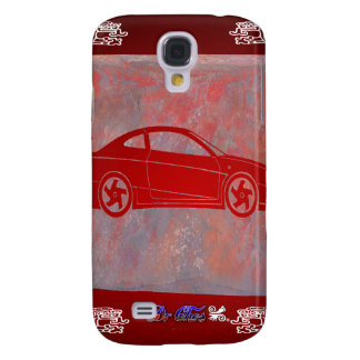 SPORT CAR RED CUSTOMIZABLE PRODUCTS GALAXY S4 COVERS