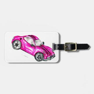 Sport Car Sketch2 Luggage Tag
