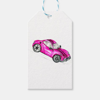 Sport Car Sketch2 Pack Of Gift Tags