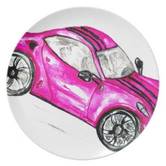 Sport Car Sketch2 Plate