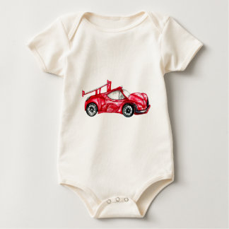 Sport Car Sketch Baby Bodysuit