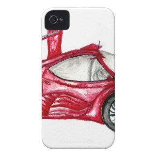 Sport Car Sketch Case-Mate iPhone 4 Case
