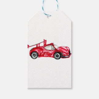 Sport Car Sketch Pack Of Gift Tags